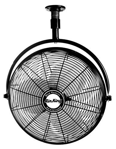20 inch ceiling fans air king 9320 20 inch 1 6 horsepower industrial grade