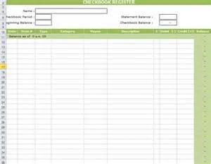 Printable Check Register Forms Checkbook Size » Home Design 2017