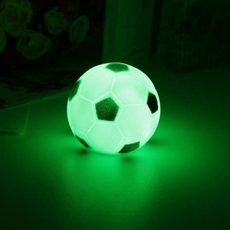 Color Changing Soccer Football Led Light Night L Party Football Lights