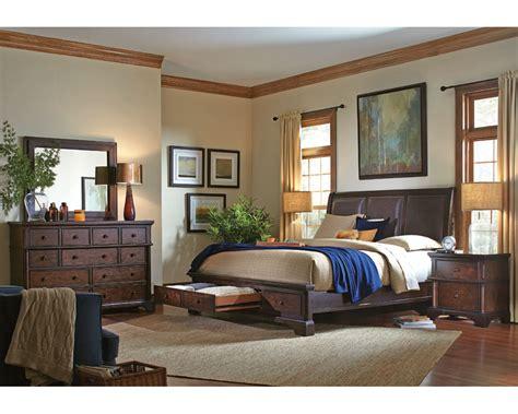 aspenhome bedroom set w storage bed bancroft asi08 422sset