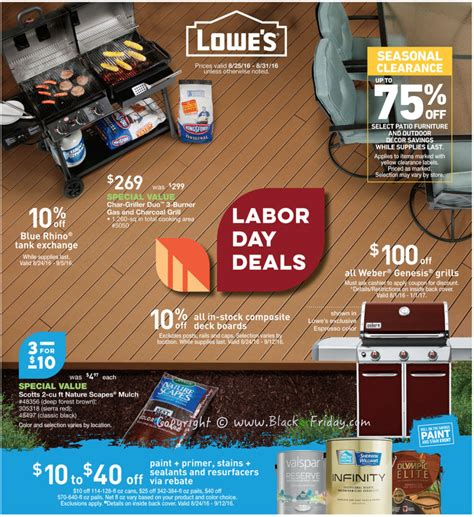 lowes after christmas sale lowe s labor day sale 2017 blacker friday