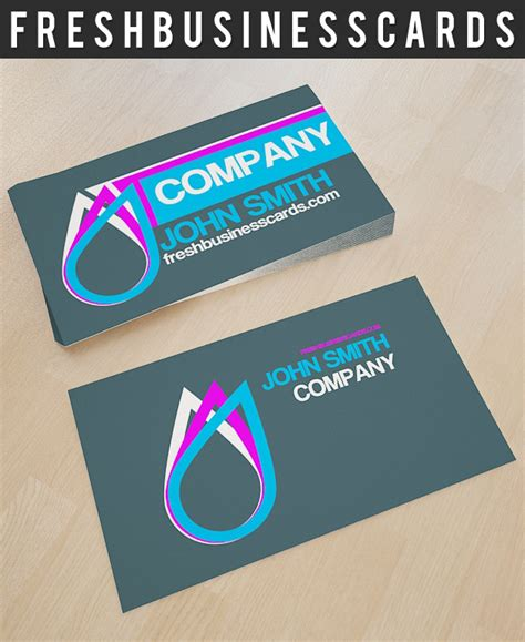 drop cards template business card logo thelayerfund