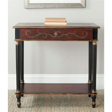 home depot console homesullivan kelsey rich berry console 40e334 05rd the