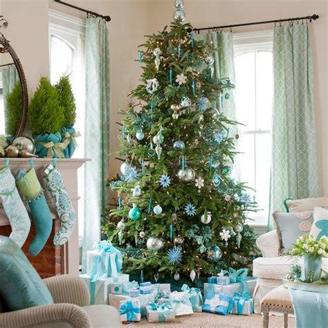 decoration 187 decoration sapin de noel blanc et bleu 1000