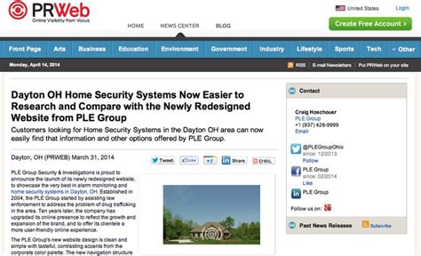 http www prweb releases home security systems dayton