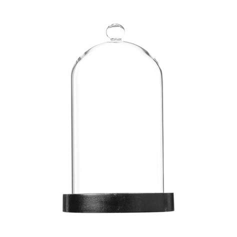 Cloche Verre Decorative cloche d 233 corative 20cm en verre