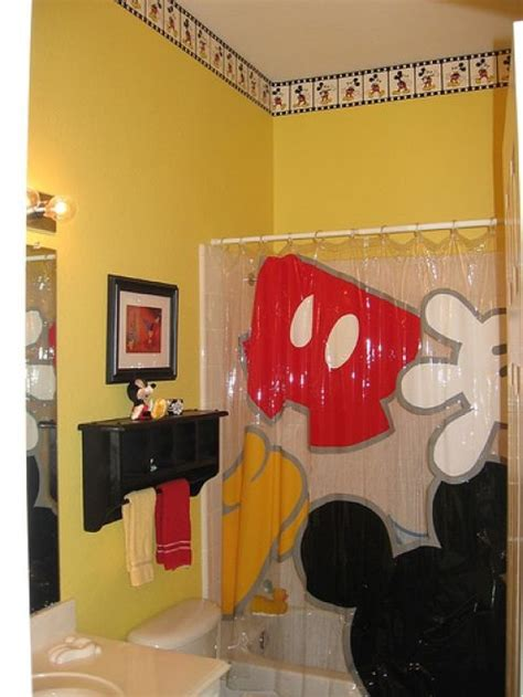 mickey mouse bathroom ideas disney mickey mouse bathroom decor why don t the
