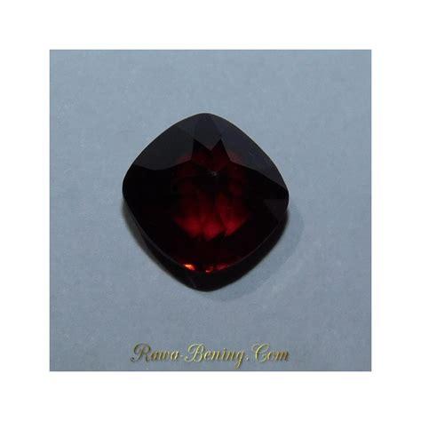 Batu Garnet Merah Kotak jual garnet merah pyrope almandite kualitas bagus berat 1