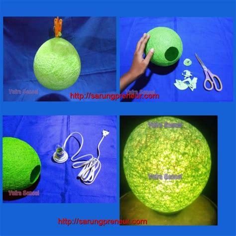 membuat lu hias dari balon dan benang peluang usaha kerajinan tangan dan cara membuatnya