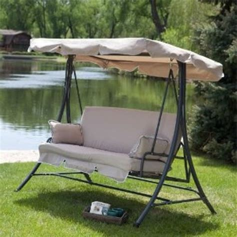 Replacement Cushions For Patio Swings And Canopy by 1000 Images About Fix Porch Swing On Outdoor