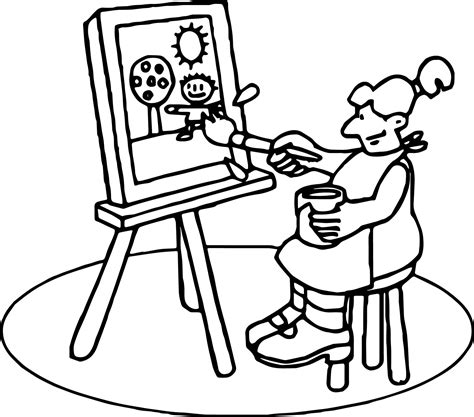 coloring pages for art class school pen coloring page freecolorngpages co
