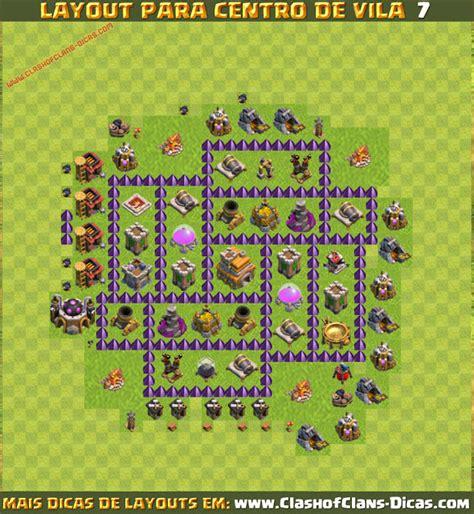layout top cv 7 layouts de cv7 para clash of clans clash of clans dicas