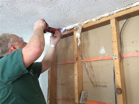 installing recessed medicine cabinet in load bearing wall installing a medicine cabinet in a load bearing wall