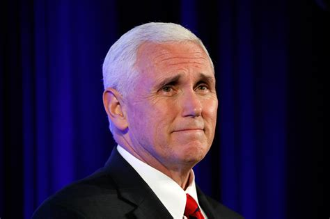 vice presidente the persistent of vice president mike pence time