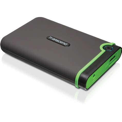 Hardisk Removable Transcend 500gb Usb 3 0 External Drive Ts500gsj25m3 B H