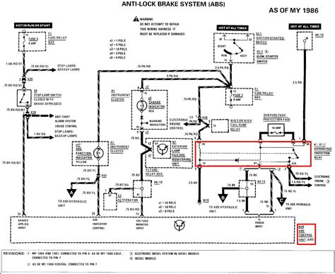 abs system diagram i ve been driving my 89 300e for about 5 years now