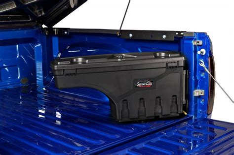toolbox truck bed swingcase truck bed tool box passenger side 2015 2018
