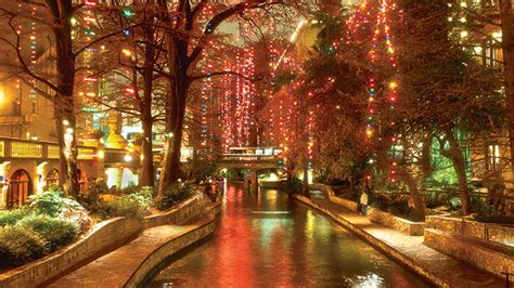 lights on the river walk san antonio riverwalk lights boise