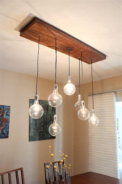 diy rustic light fixtures diy a rustic modern chandelier indignant corgi another