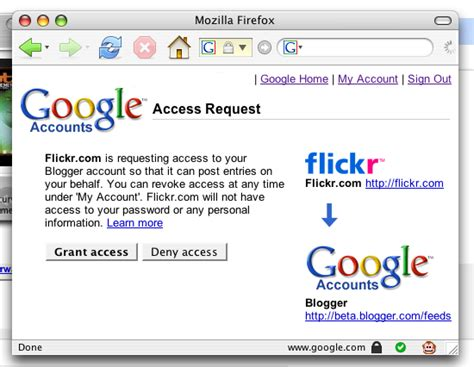 blogger usernames official blogger blog flickr support for blogger in beta