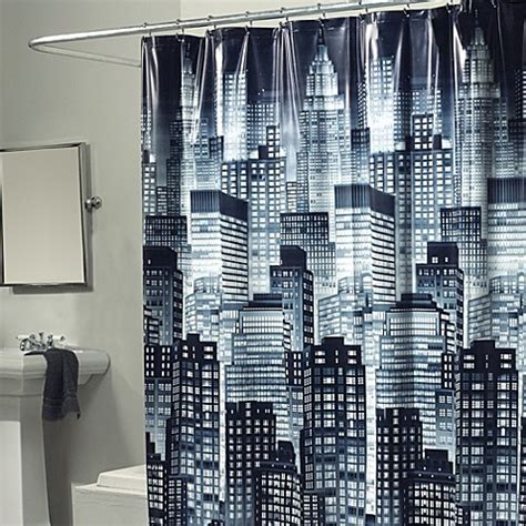 Buy Skyline 70 Inch X 72 Inch Shower Curtain From Bed Bath