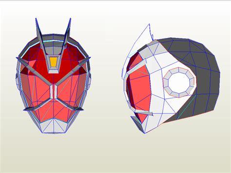 Kamen Rider Helmet Papercraft - kamen rider wizard by samcaitano on deviantart