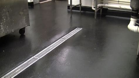 Industrial Commercial Kitchen Polyurea Flooring