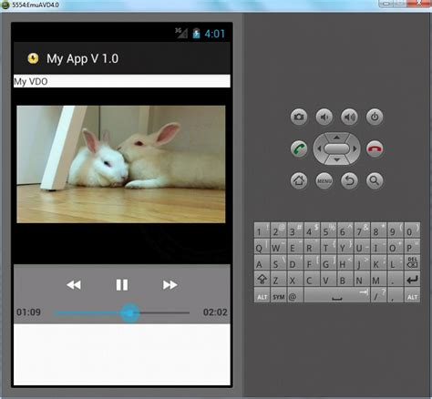 videoview android widgets exle - Android Videoview