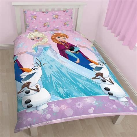 Bedcover Set Single No3 Motif Frozen disney frozen magic single duvet set quilt cover elsa olaf bedding ebay