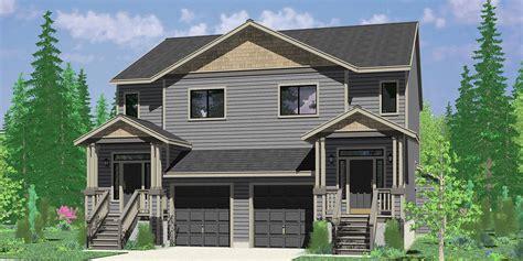 duplex house plans with basement duplex house plans two unit home built as a single family