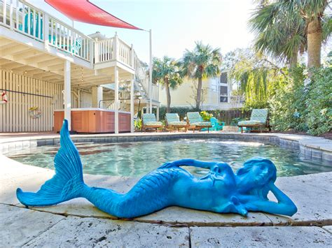 the salty the salty mermaid cottage tybee island vacation rentals
