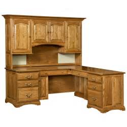 desk and hutch amish oak desk with hutch