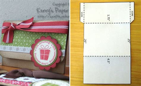 How To Make Your Own Gift Cards - gift card envelope template mini envelope template flickr photo sharing small