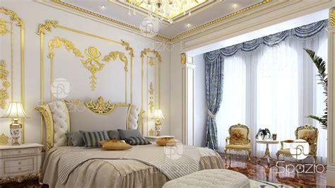 luxury master bedroom interior design  dubai  spazio