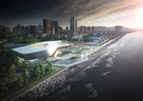 home concept design center zhuhai culture center competition design concept on behance