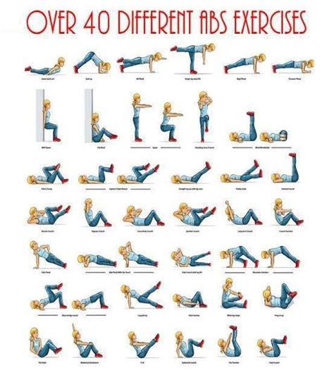 the best exercises you ve 40 olika mag 246 vningar tr 228 ning pinterest exercises