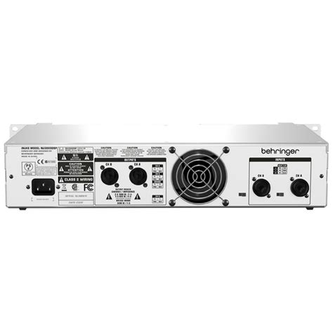 Power Lifier Behringer Inuke behringer inuke nu3000dsp power b stock at