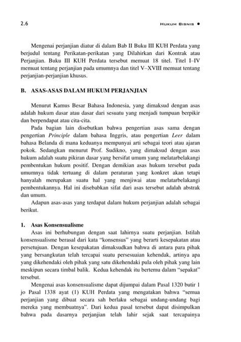 Perikatan Yang Lahir Dari Perjanjian bmp ekma4316 hukum bisnis