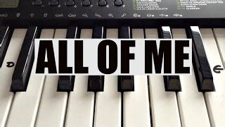 john legend all of me tutorial how to play on piano all of me john legend easy keyboard tutorial with