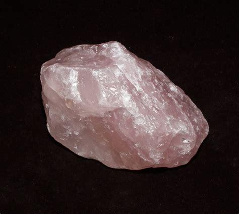 rose quartz l rough rose quartz crystal albion fire and ice uk gemstones
