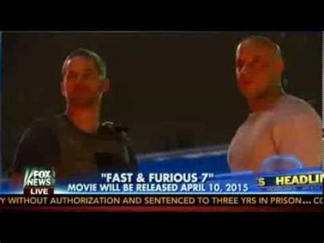 fast and furious release date paul walker crash delayed but did not stop fast7 new