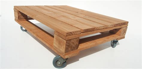 pallet coffee table on castor wheels industrial coffee
