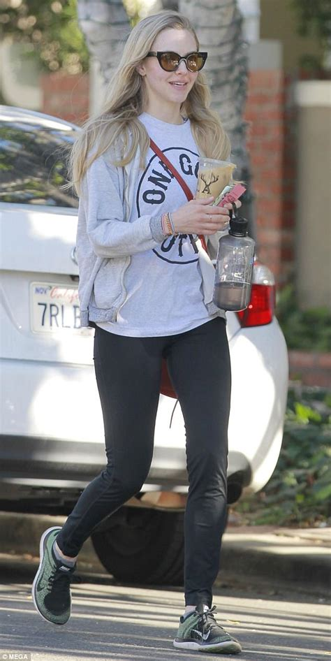 amanda seyfried how old is she amanda seyfried goes makeup free out in west hollywood