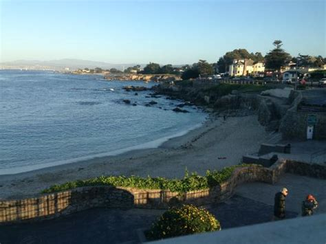 beach house at lovers point pacific grove beach from the patio at the beach house at lovers point pacific grove