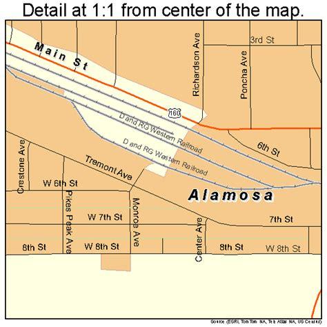 alamosa colorado map alamosa colorado map 0801090