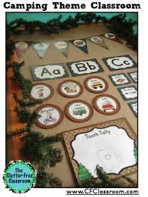 Be sure to check out my other original camping themed classroom decor