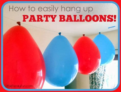 how to hang up christmas lights how to easily hang up party balloons easy cheap