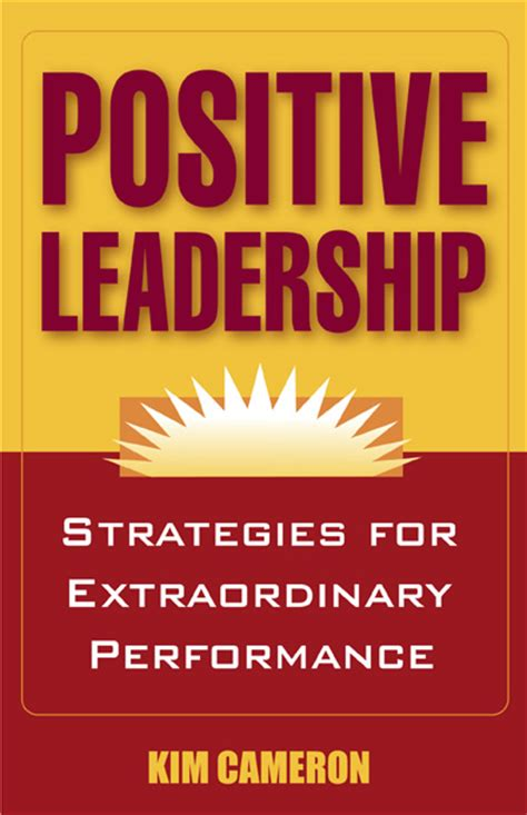 picture books about leadership 5 zingers on positive leadership by cameron david
