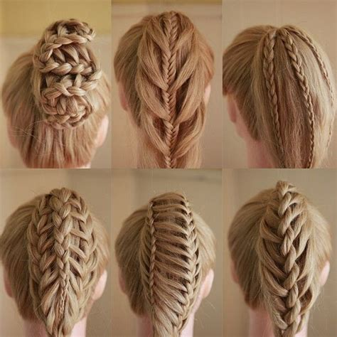types of pony tail with a roll 19 best images about braid spiration on pinterest