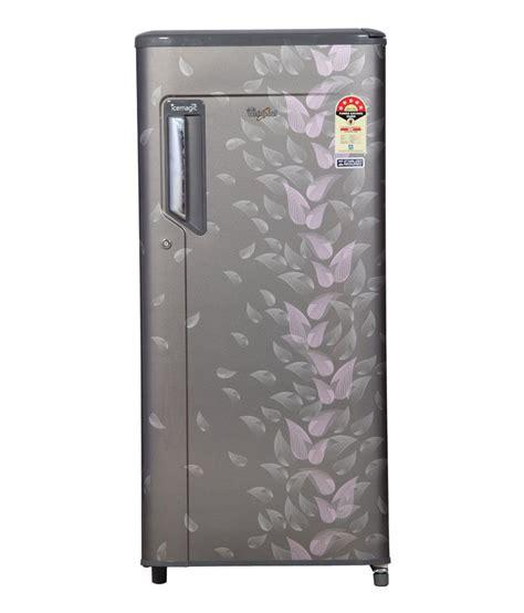 door whirlpool refrigerator whirlpool 190 ltr 4 single door 205 icemagic premier